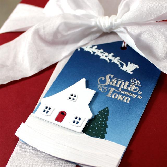 Santa Tag Close Up