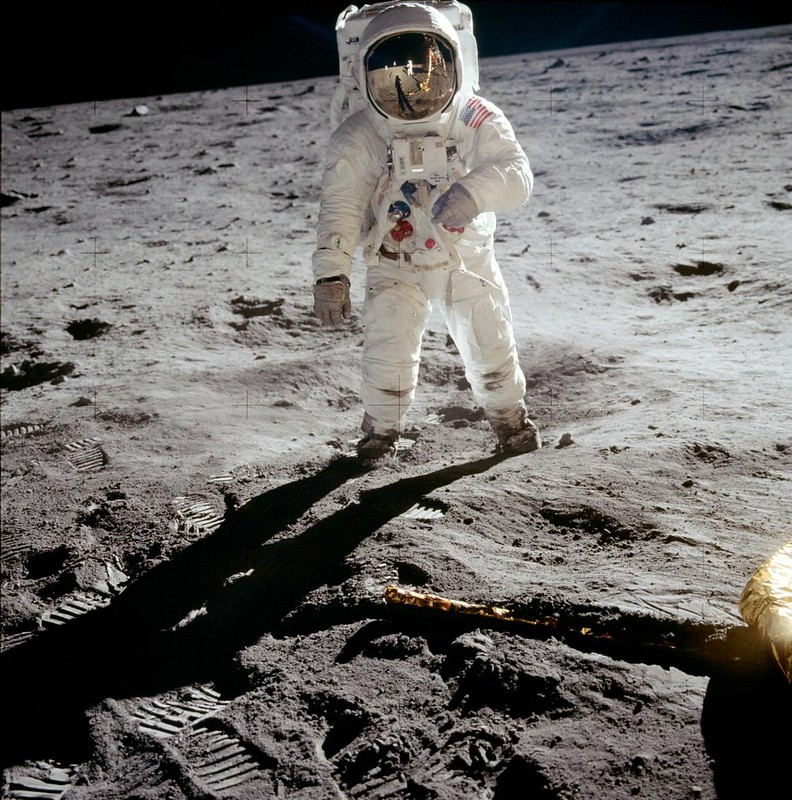 First manned Moon landing by the United States's Apollo 11 mission