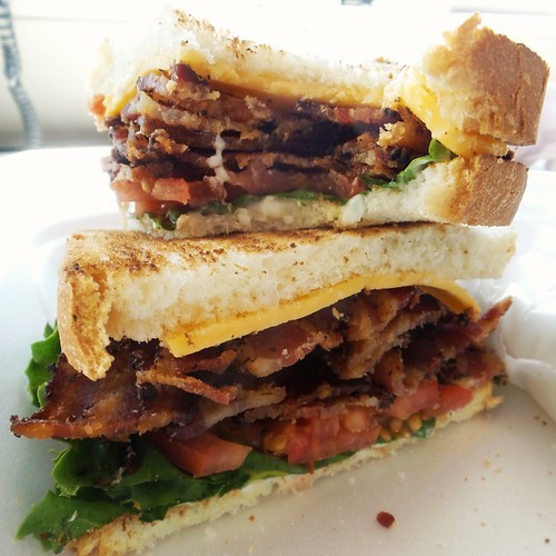 The BLT for Silverglades on Eighth Street is just perfect. #NoFilter #Yum