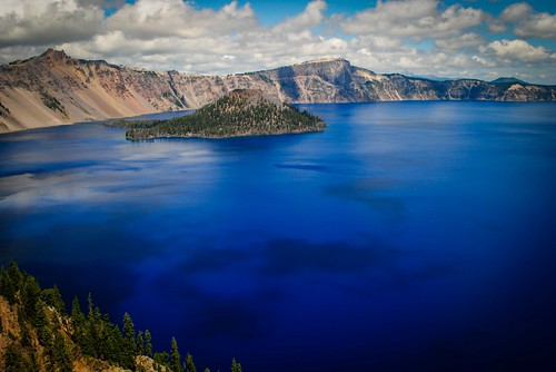 Clouds Altering the Water Color