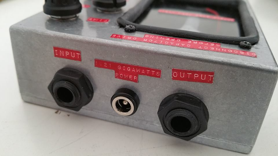 Back to the Future 4114 Custom Effects Pedals
