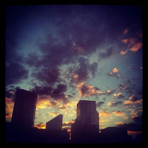 Good evening from downtown Cincinnati.