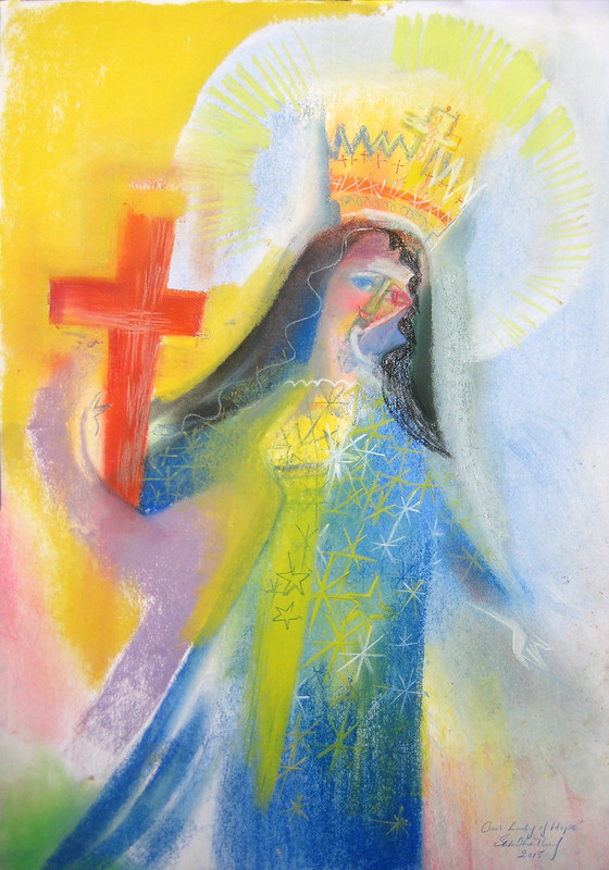 Our Lady of Hope. 2015 by Stephen B. Whatley