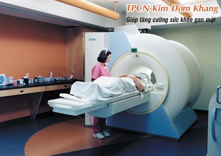 Chụp cộng hưởng từ MRI giúp xác định chính xác ung thư đường mật, ung thư túi mật