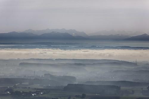 Alpine Panorama & Fog In November