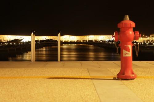 passeggiata serale al porto turistico