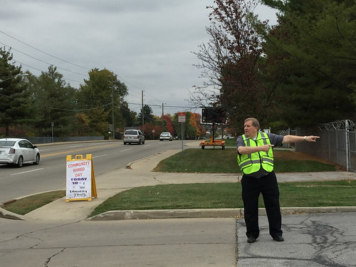 Shred-it Day, October 2015: Volunteers in Policing (VIP)