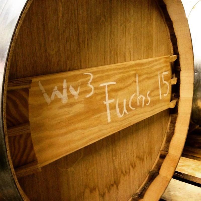 Nach den Babies im Keller schauen... #wein #wine #weinvon3 #zeilitzheim #franken
