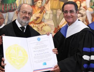 """Entrega de Honoris Causa y Charla """"Importancia del Sonido Audiovisual"""" con Jerónimo Labrada"""