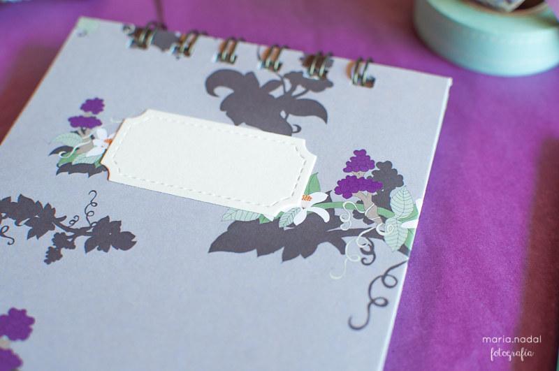 Libretas boda A&A www.papelidades.com