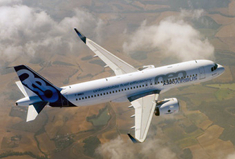 A320neo IN FLIGHT - FIRST FLIGHT