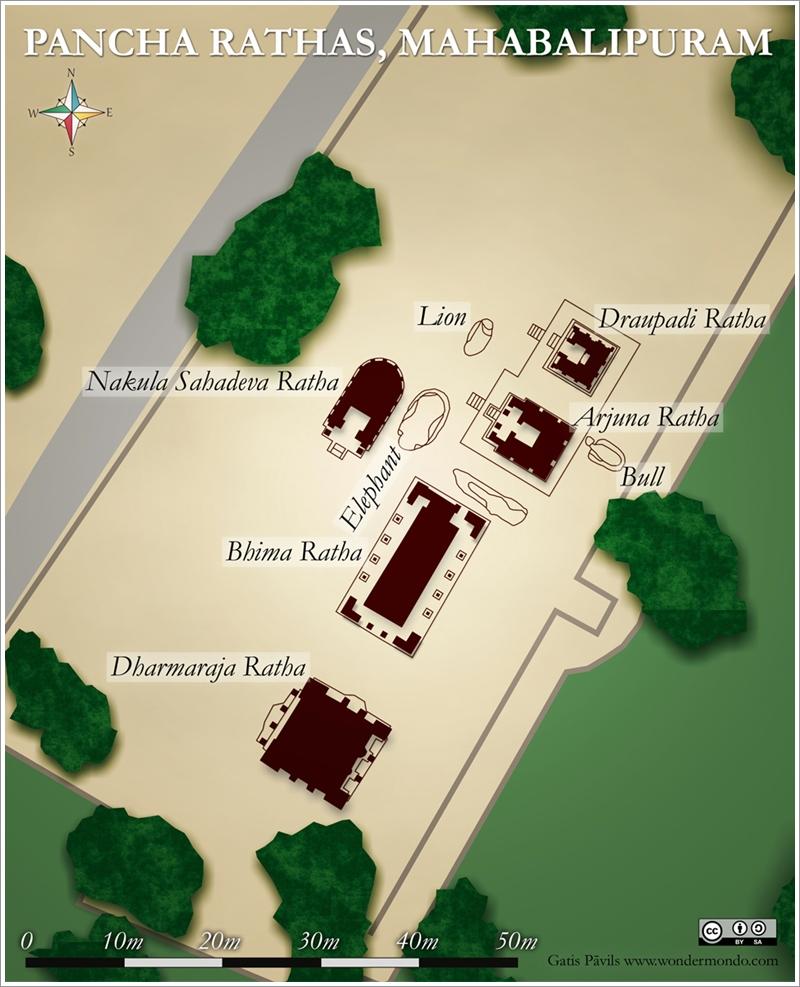 1五部戰車神廟地圖