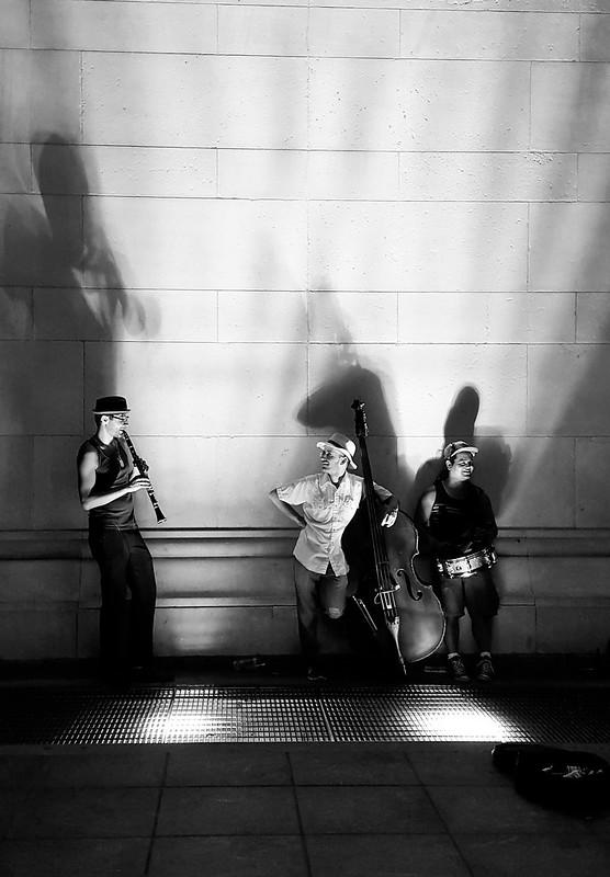 Uplit Trio (B&W)