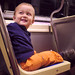 Happy trolley toddler