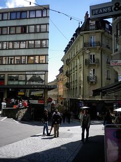 Lausanne streetscape