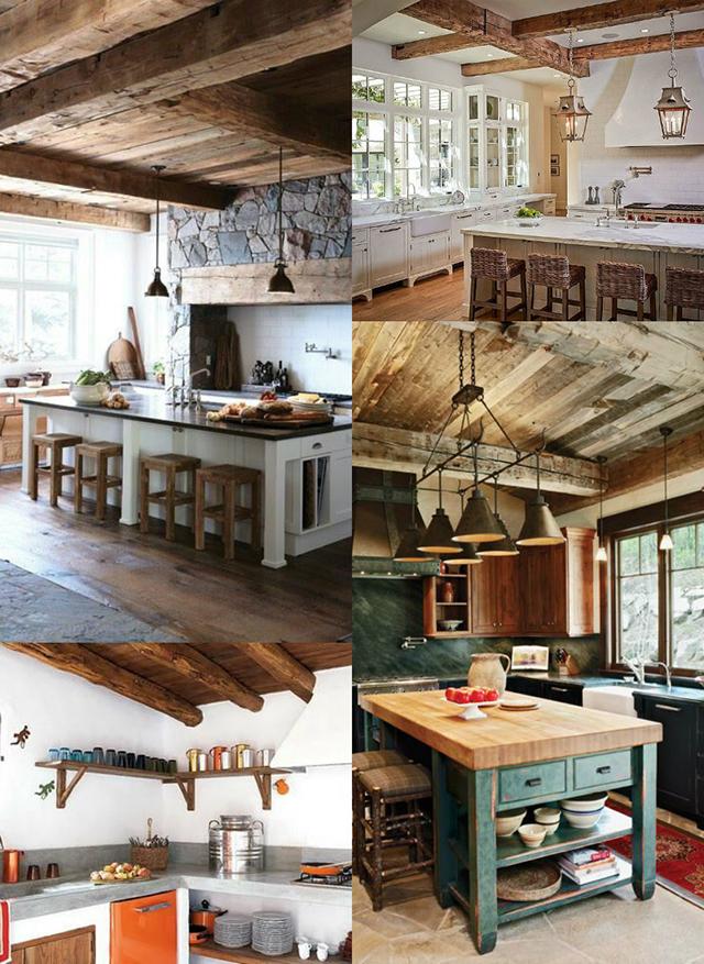 3 Ideas para conseguir una cocina de estilo rústico