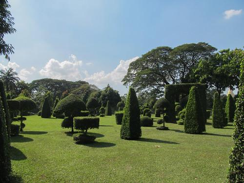 Yangon: le parc Kandawgyi