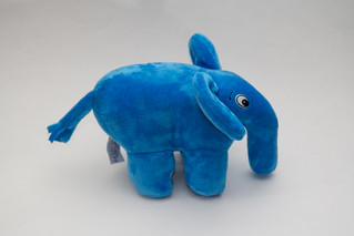 Blue Open Goodies ElePHPant | by Atomic Taco