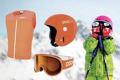 Chraňte své děti při lyžování
