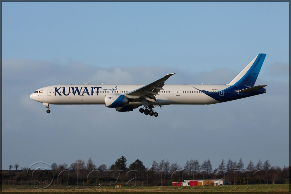 9K-AOC - B77W - Kuwait Airways