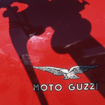 James Milmoe; Detail, Moto Guzzi Motorcycle; Photograph - Stop/Look/See: Photography by James Milmoe