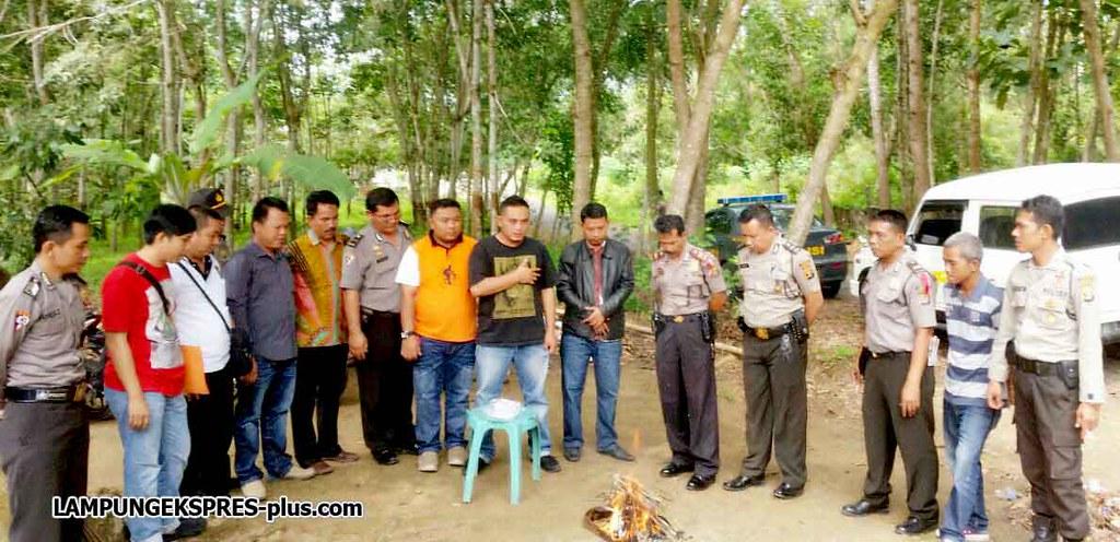 Pilkada Tulangabawang Barat, KPU Musnahkan Surat Suara