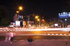 Night at Rin Kham Market