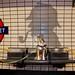 Laika as Sherlock Holmes in Baker Street Station   London, UK by ynaka29