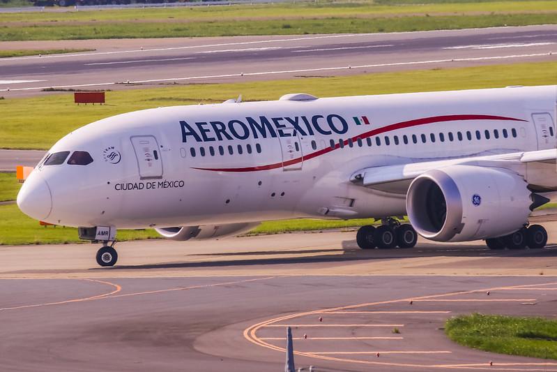XA-AMR Boeing 787-8 Dreamliner Aeroméxico