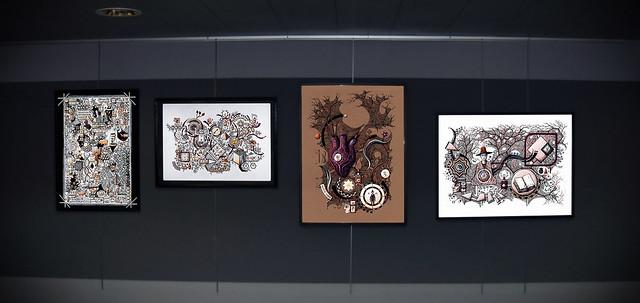 Exposition de Gaël Chapo au Moulin de Blanchardeau à Lanvollon
