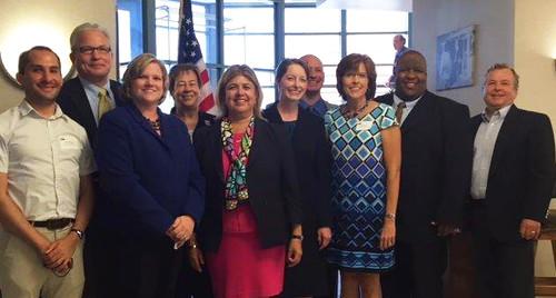USDA officials and Nebraska congressional and state representatives