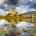 Eilean Donan Castle mirrored on the Loch by Loïc Lagarde