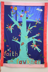 Tree of Faith banner, Fawkner Community House