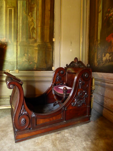 French Kind Henry VIII's chair - Ghent, Belgim