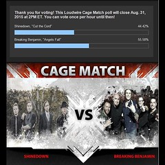 Hey everyone! We are so behind and time is running out! Please vote! You can vote once per hour until 8/31! #Shinedown http://ift.tt/1Ltx76s