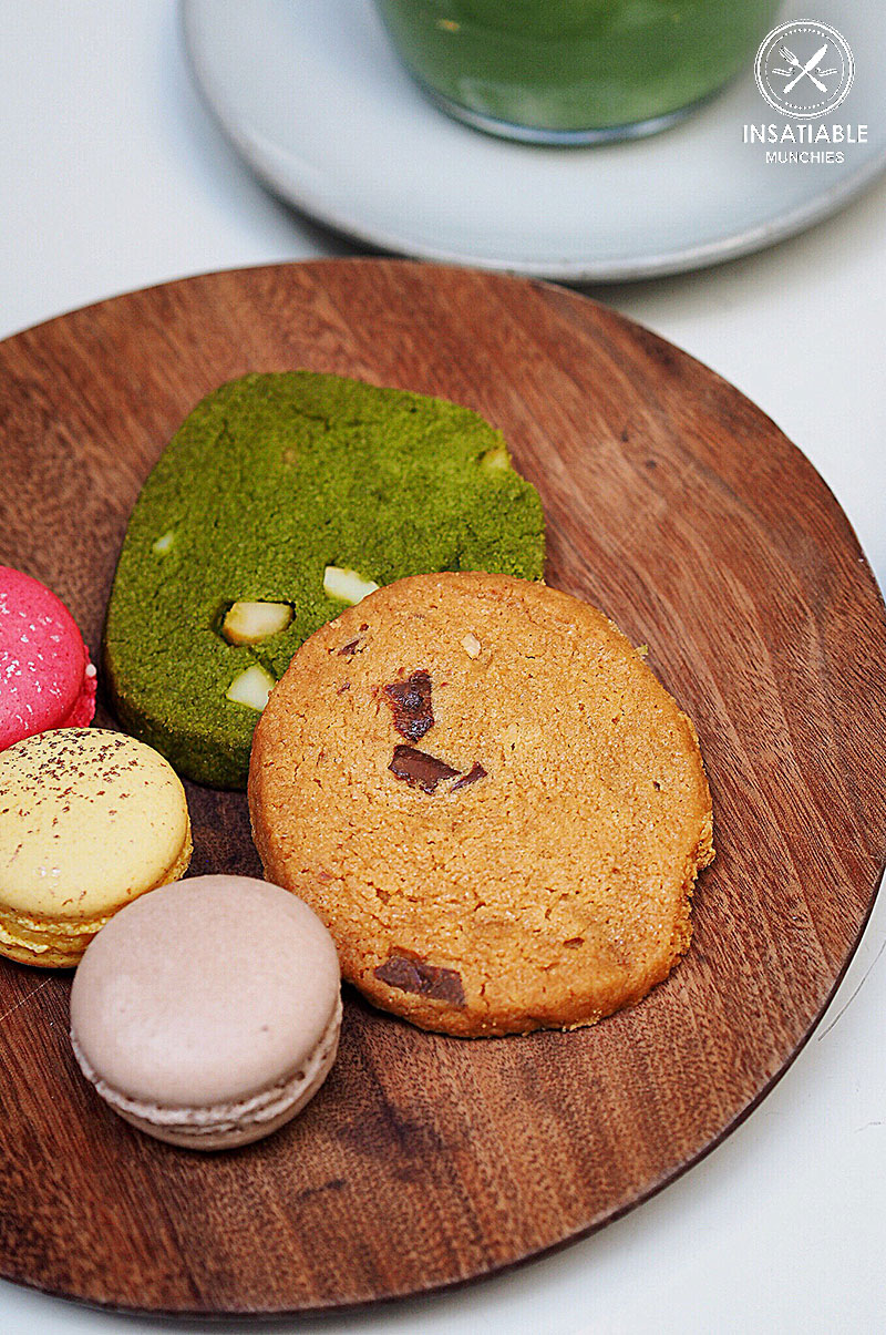 Sydney Food Blog Review of Cafe Cre Asion, Surry Hills: Cookie Selection