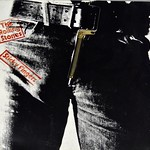"ROLLING STONES STICKY FINGERS WORKING ZIPPER Germany 12"" LP VINYL"