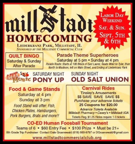 Millstadt Homecoming 2015