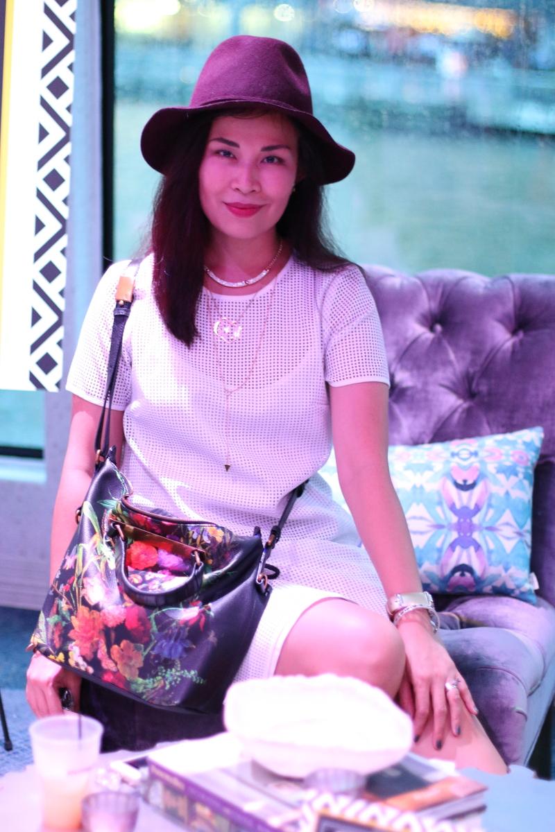 white-mesh-dress-burgundy-hat-2