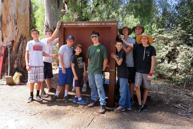 2015-09-05 Jens Eagle Project, Old Poway Park