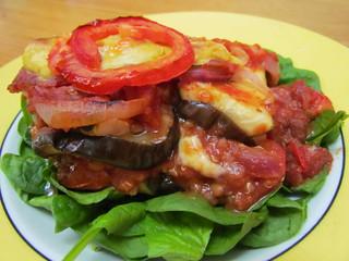 Grilled Eggplant and Zucchini Lasagna