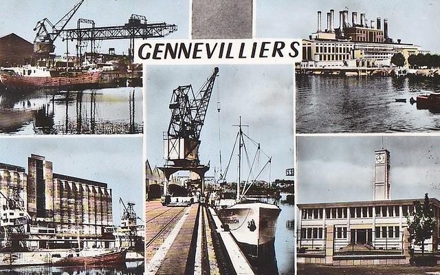 Gennevilliers grand paris metropole - 37 route principale du port gennevilliers ...