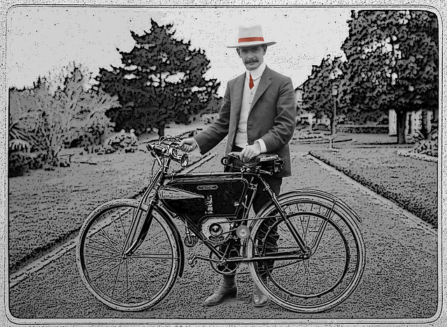 Early motorcycle