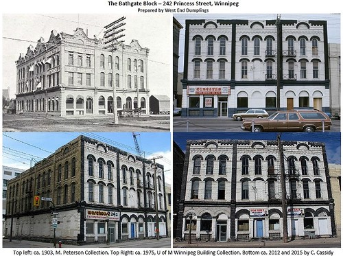 242 princess Street over the decades
