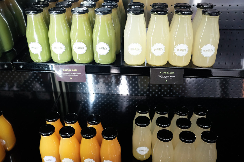 Goodlife Juice Co in Fort Street Auckland Cold Pressed Juices Food Blog