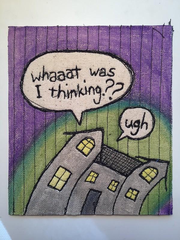 drawlloween day 7: haunted house