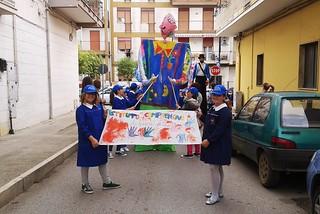 Noicattaro. Parata inaugurazione Exviri 2015 front