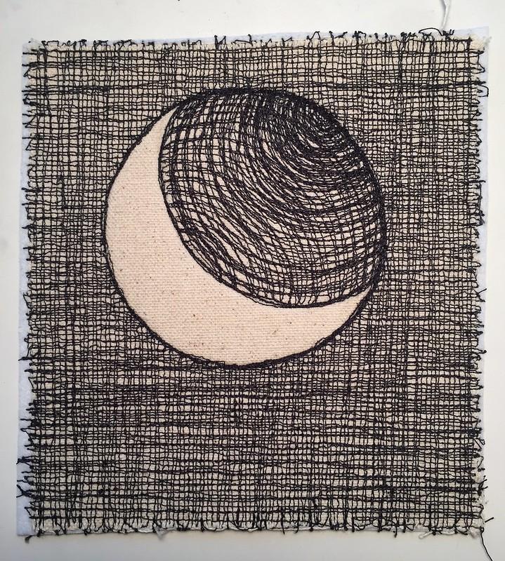 drawlloween day 12: moon