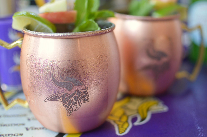 Apple Moscow Mules