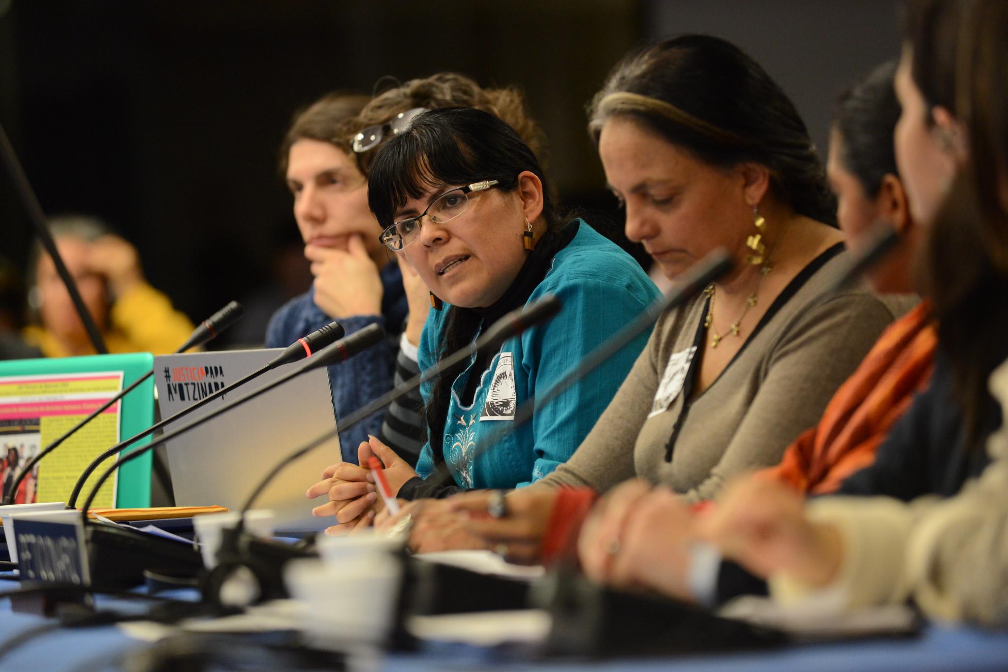 Defensores de derechos de las mujeres y del medio ambiente
